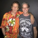 Steve Kent with Dix Denney of The Weirdos