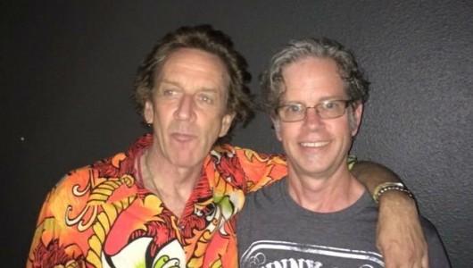 Steve Kent with Dix Denney of The Weirdos